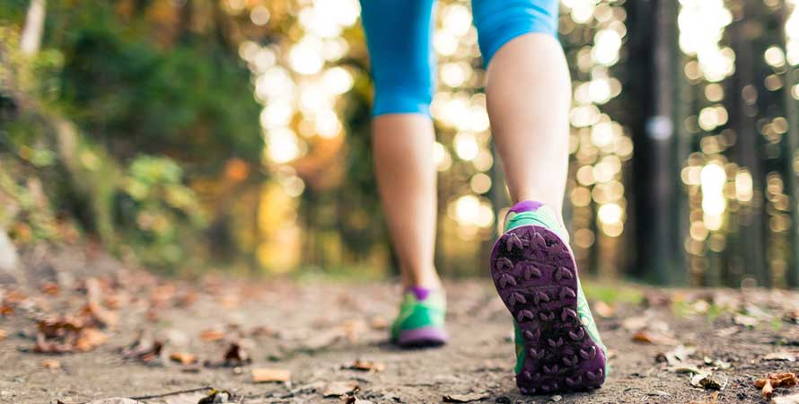 Exercising improves mental well-being