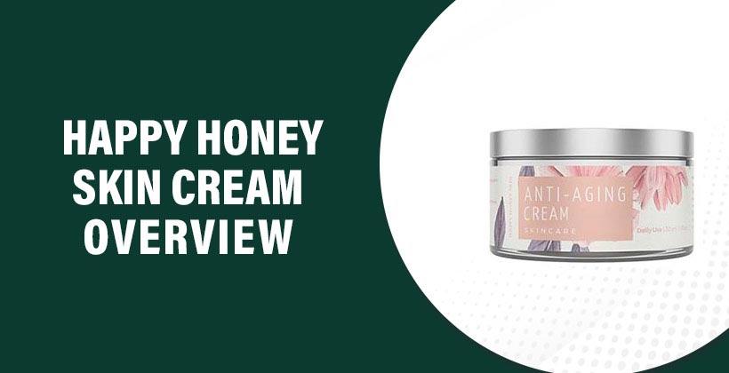 Happy Honey Skin Cream