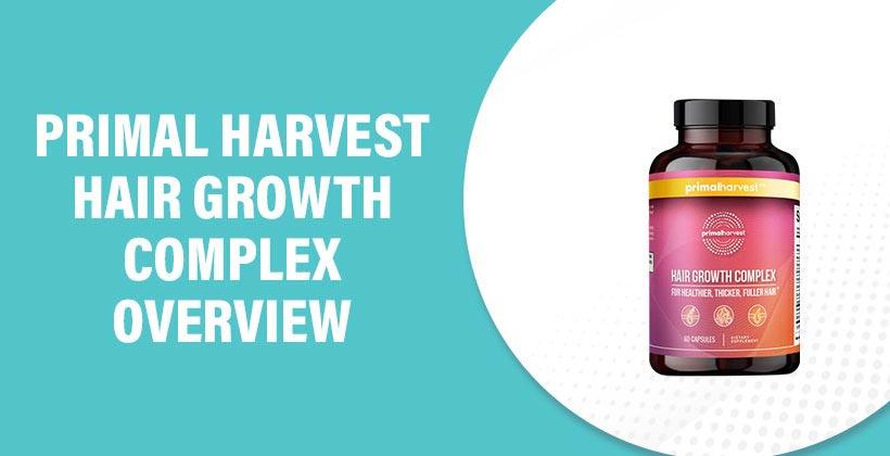 Primal Harvest Hair Growth Complex