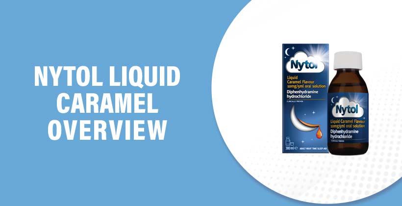 Nytol Liquid Caramel Flavour