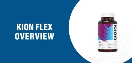 Kion Flex Reviews – Does This Product Really Work?