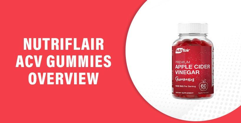Nutriflair Apple Cider Vinegar Gummies