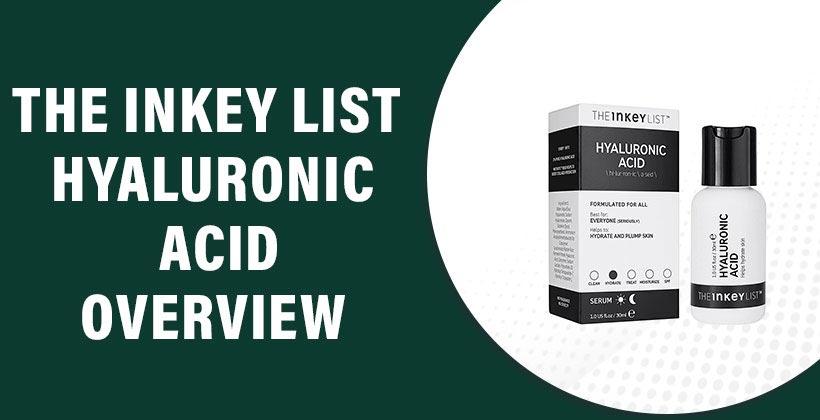 The Inkey List Hyaluronic Acid