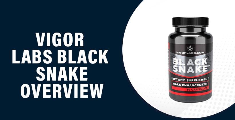 Vigor Labs Black Snake