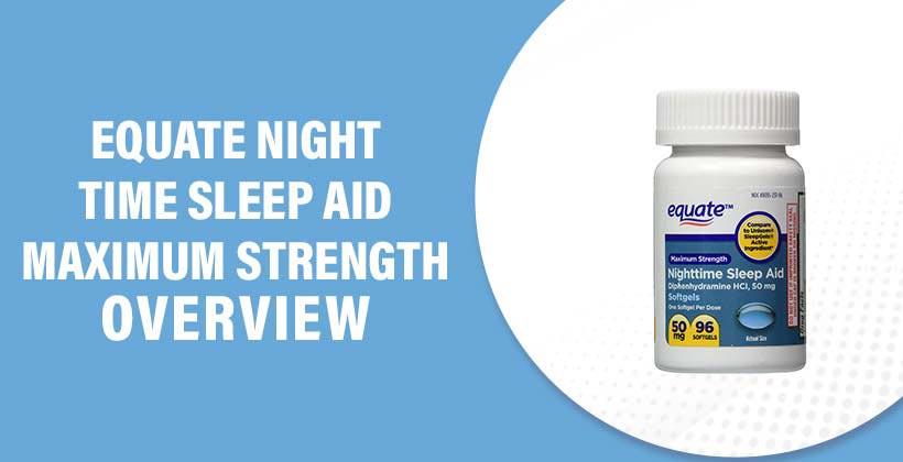 Equate Nighttime Sleep Aid