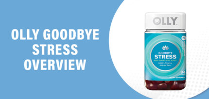 Olly Goodbye Stress Review – Does This Product Work?