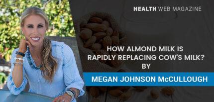 Almond milk vs cow's milk