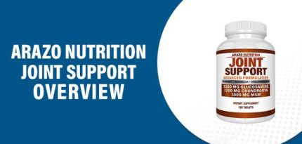 Arazo Nutrition Joint Support Review – Does this Product Really Work?