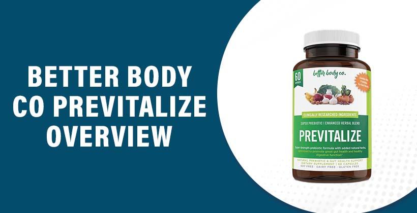 Better Body Co Previtalize