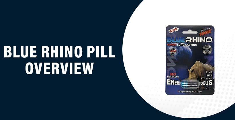 Blue Rhino Pill