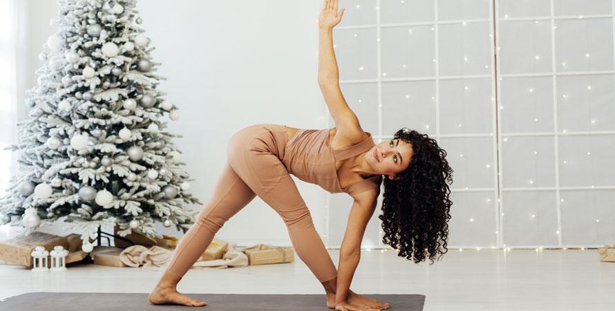 Christmas workout plan