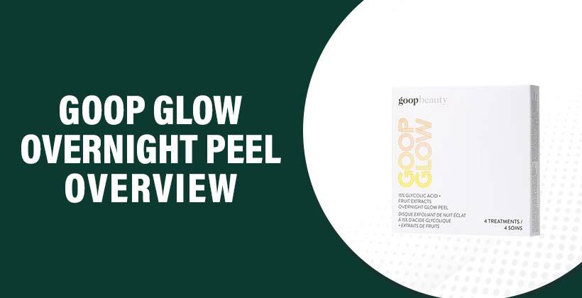 GOOP Glow Overnight Peel