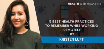 Working remotely healthy tips