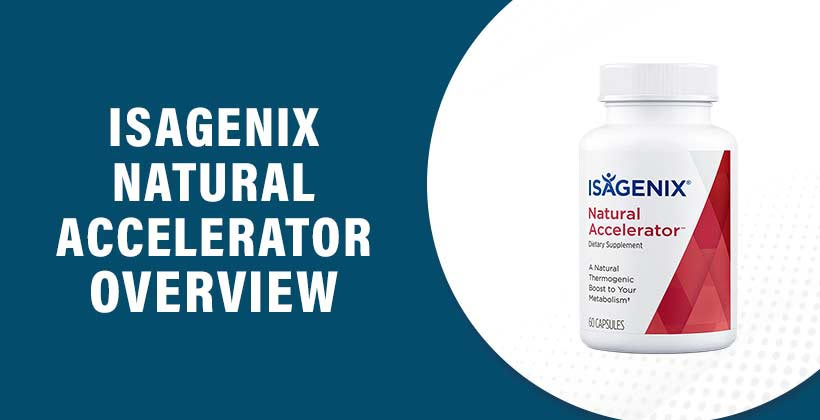 Isagenix Natural Accelerator