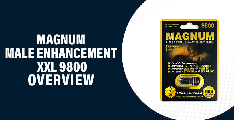 Magnum Male Enhancement XXL 9800