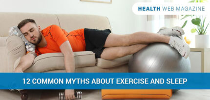 Myths about exercise and sleep