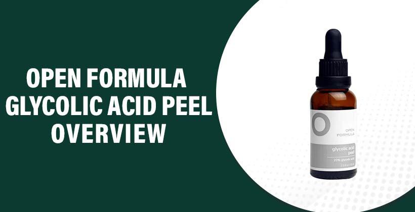 Open Formula Glycolic Peel