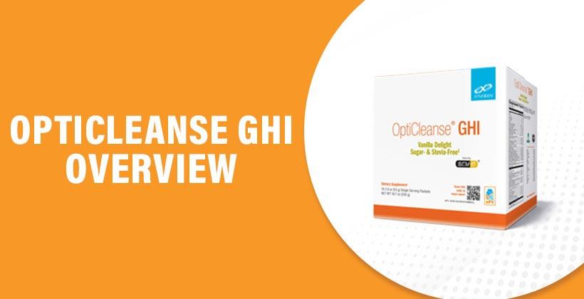 OptiCleanse GHI