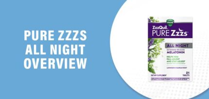 Pure Zzzs All Night Review – Does This Product Really Work?
