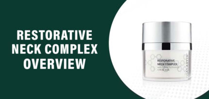 Restorative Neck Complex Review – Does this Product Work?