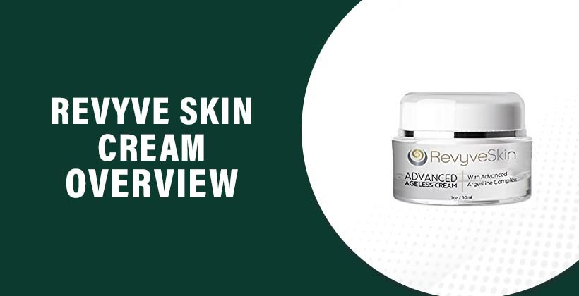 Revyve Skin Cream