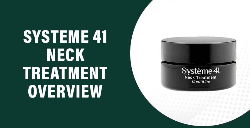 Systeme 41 Neck Treatment