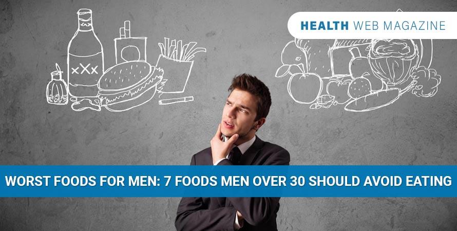 Worst food for men
